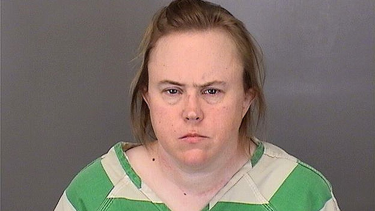 Kathryn Edgington was arrested and booked into Sarpy County Jail to face charges involving the...