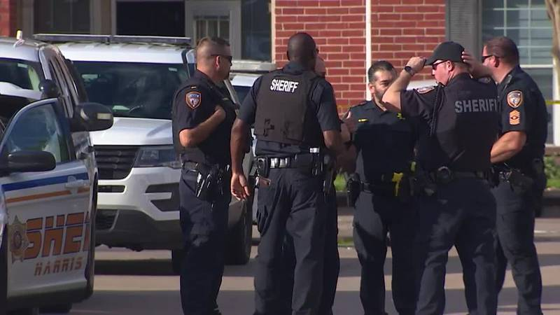 Three children were abandoned in a Houston-area apartment, along with the apparent remains of...