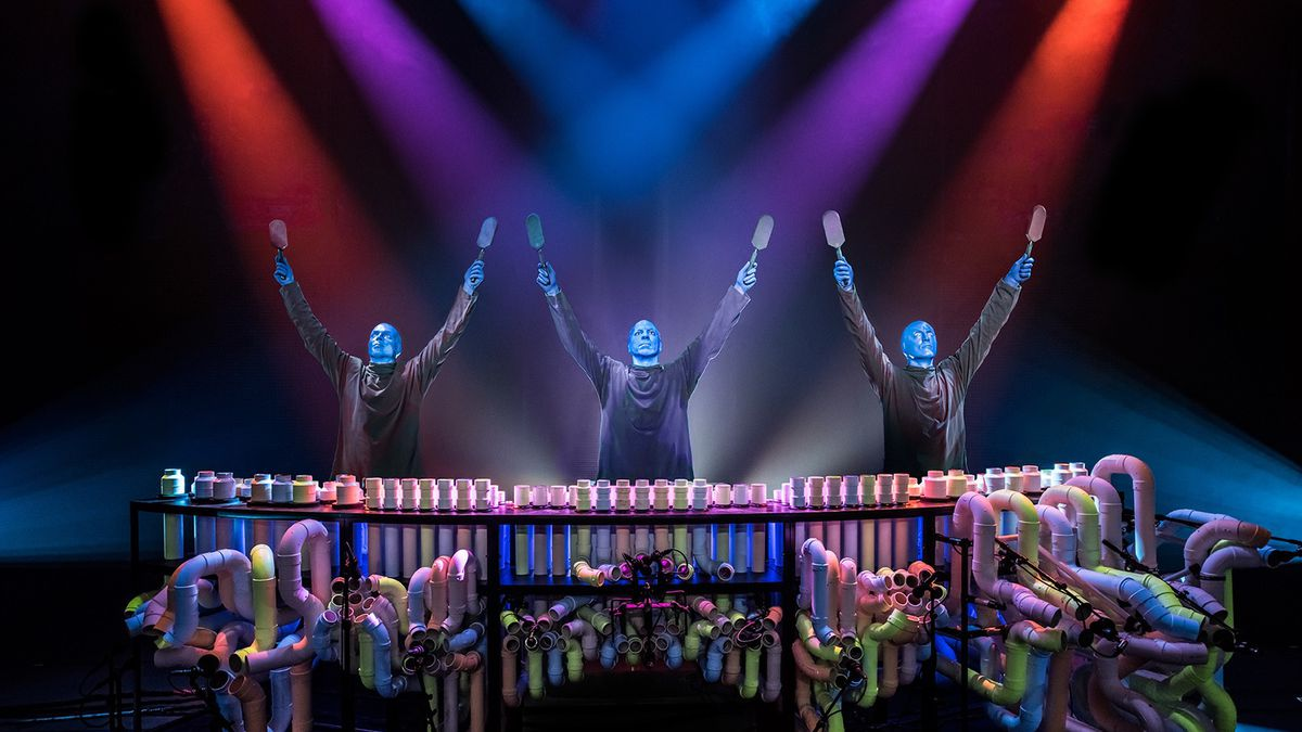 Blue Man Group will perform at the Lied Center in Lincoln in 2020. (Source: UNL Lied Center)