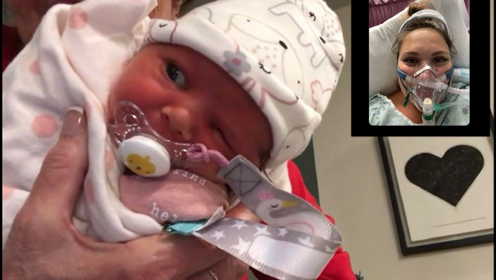 Baby girl to black giving birth See This
