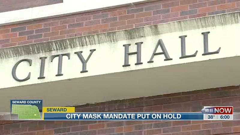 City of Seward to discuss citywide mask mandate.