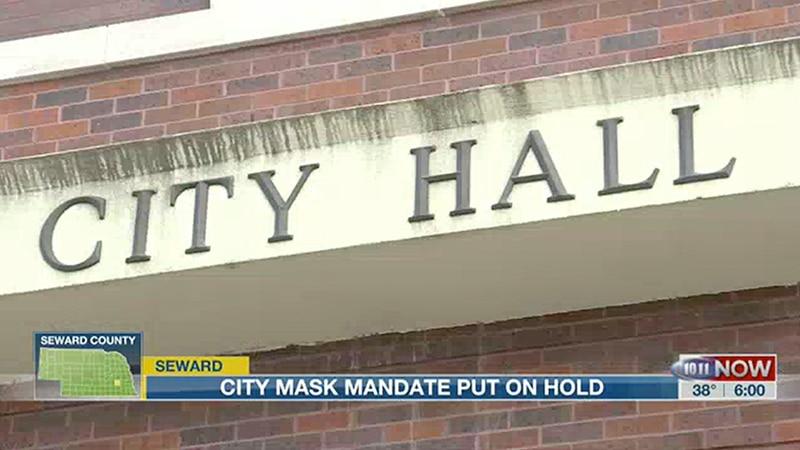 City of Seward to discuss citywide mask mandate.