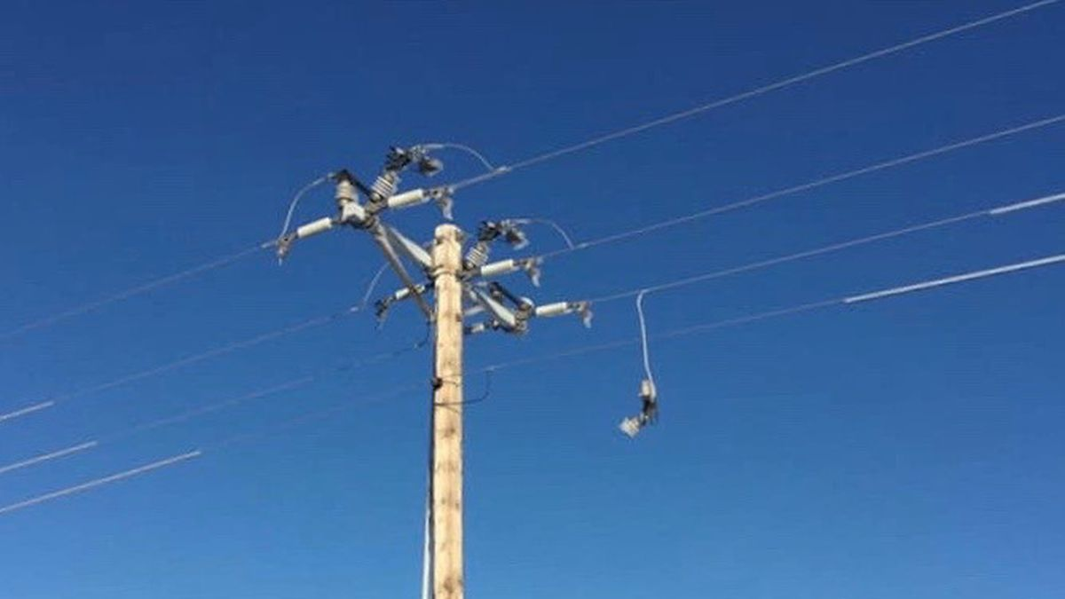 Restoration efforts continue in the Panhandle after ice and wind cause the worst utility damage in decades. Over 200 Wheat Belt Public Power District customers were restored at least temporary power Sunday, but over 300 remain without power Monday. (SOURCE: Wheat Belt Public Power District).