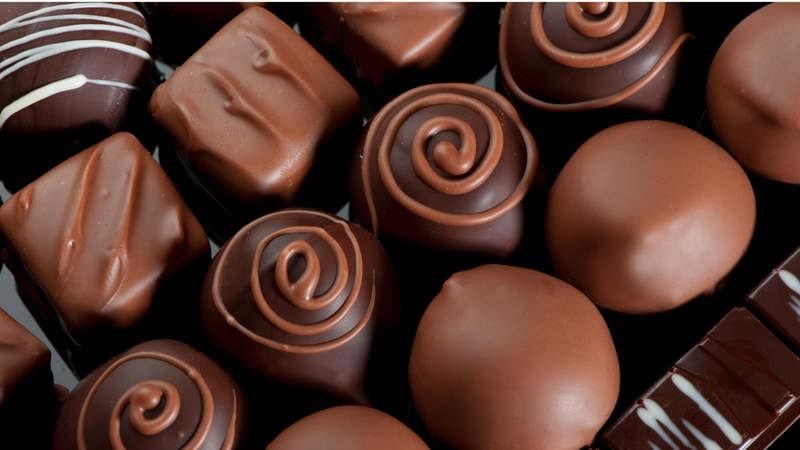 Research suggests chocolate can lower blood pressure when eaten in moderation.