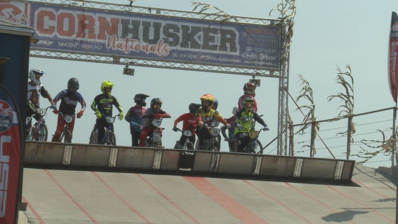 Hundreds of racers are competing at Star City BMX this weekend for a national tournament.