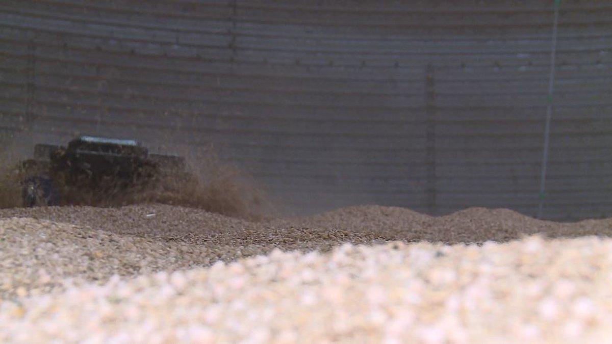 Nebraska ag start-up aims to keep farmers out of grain bins
