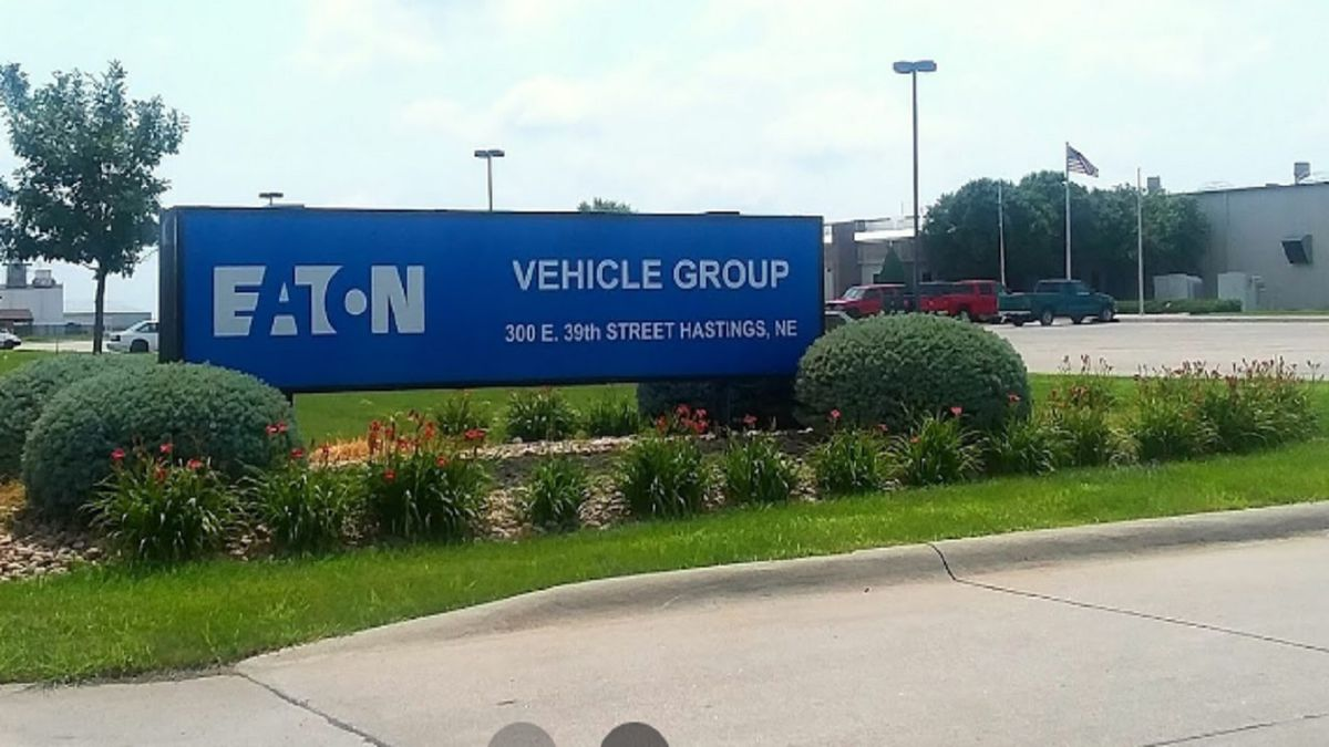 Eaton plans to close the Hastings plant, transferring work being done there to another facility.