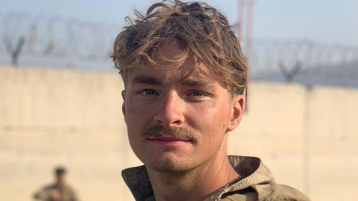 Cpl. Daegan Page in Afghanistan
