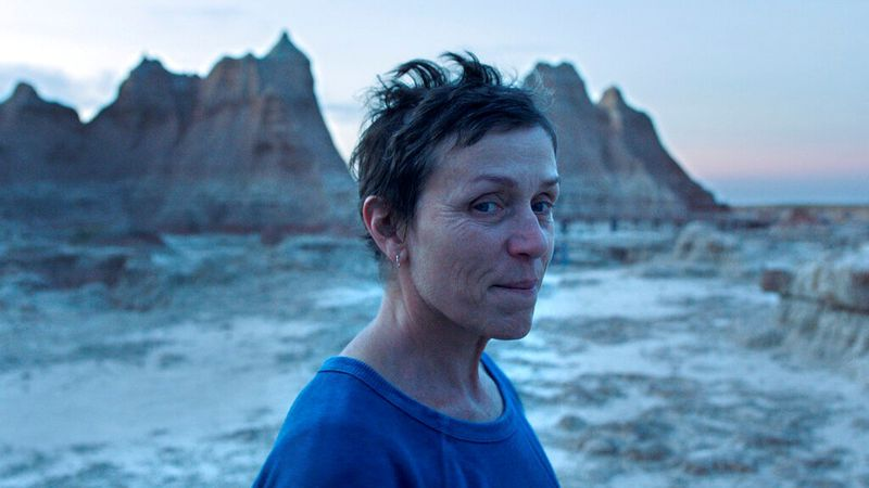 This image released by Searchlight Pictures shows Frances McDormand in a scene from the film...