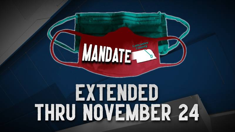 The Directed Health Measure, with mask requirement, has been extended through Nov. 24.