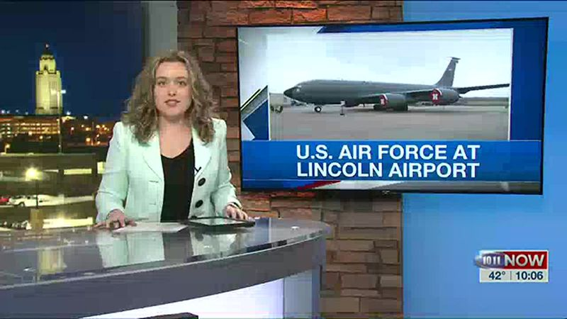U.S. Air Force's 55th wing temporarily relocated to Lincoln airport