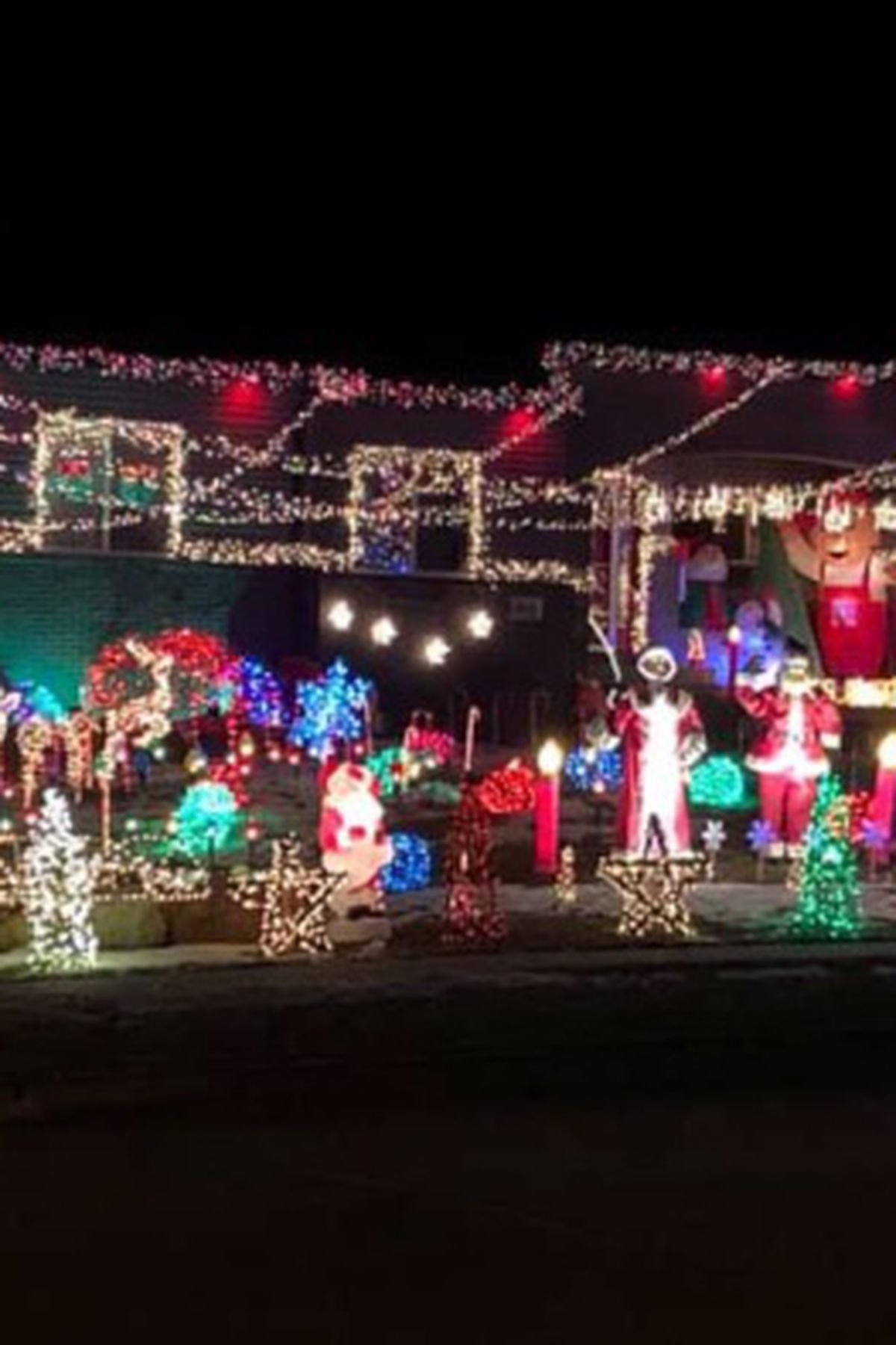 Christmas Light Displays Lincoln Nebraska Map 2020 Map of Christmas light displays in Lincoln