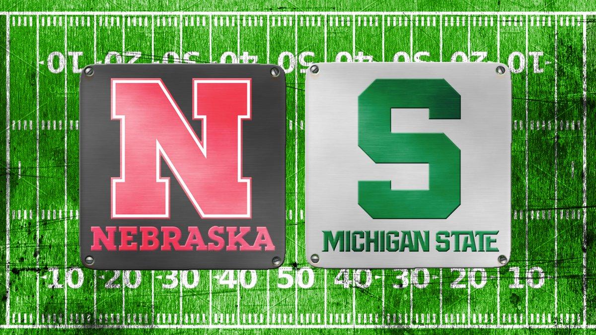 Nebraska vs Michigan State on Sept. 25