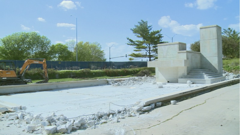 Long overdue overhaul comes to Cascade Fountain