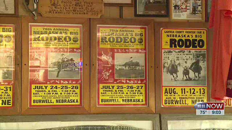 We learn about a business in Burwell that is more like a rodeo museum with a bar.