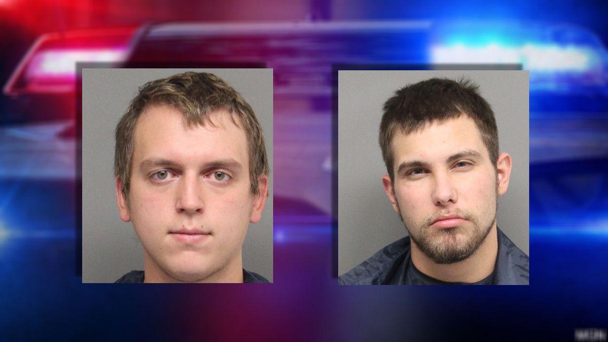 Tyler Belk, 21, and Brandon Grady, 23.