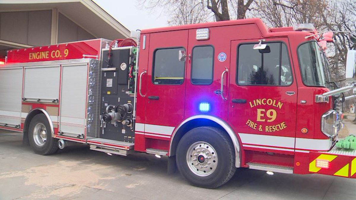 The last time Station 9 had a new fire engine was back in 2005. On Wednesday, January 8, 2020, Station 9 received a brand new engine. (SOURCE: KOLN)