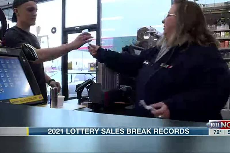 2021 Nebraska lottery sales break records