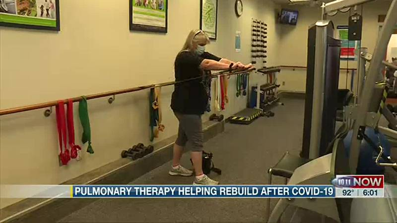 Lincoln woman recovering from COVID-19 a year later with help from pulmonary rehab