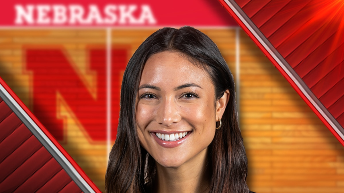Lexi Sun is an outside hitter on the Nebraska volleyball team.