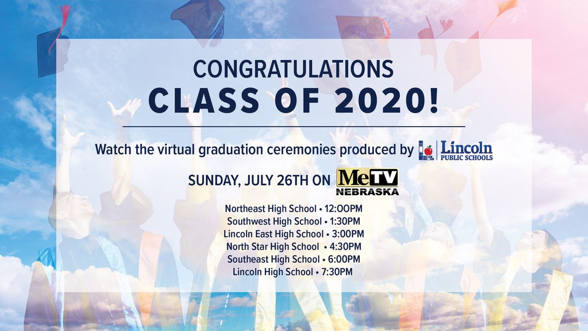 Watch special videos honoring the Class of 2020 on Sunday, July 26.