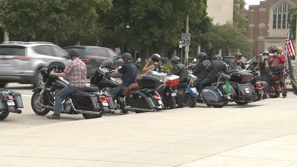 Eagle Riders stop at Capitol, raise awareness for children ...