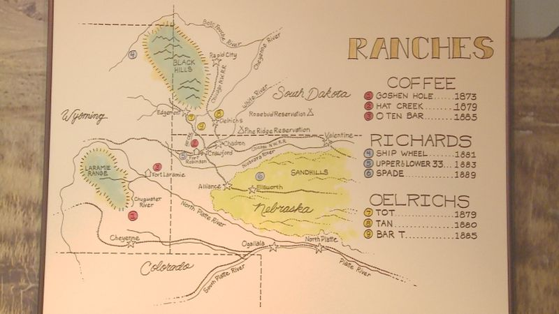 The next time you pay a visit to the campus of Chadron State College, you might want to visit...