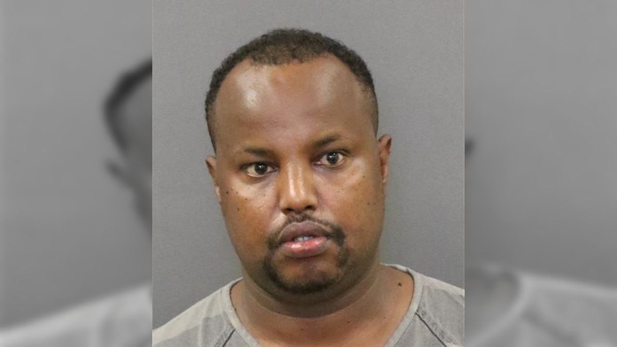 Muhamed Musse Hussein, 29, of Grand Island, was arrested in connection to allegations of Human...