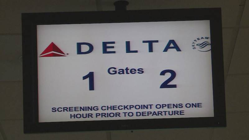 Delta flights were discontinued in July 2020 due to the pandemic.