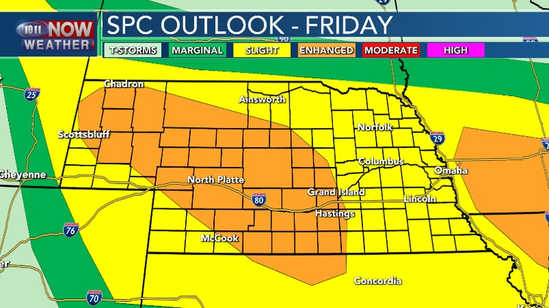 Scattered to widespread severe thunderstorms are possible tonight. Large hail and damaging...