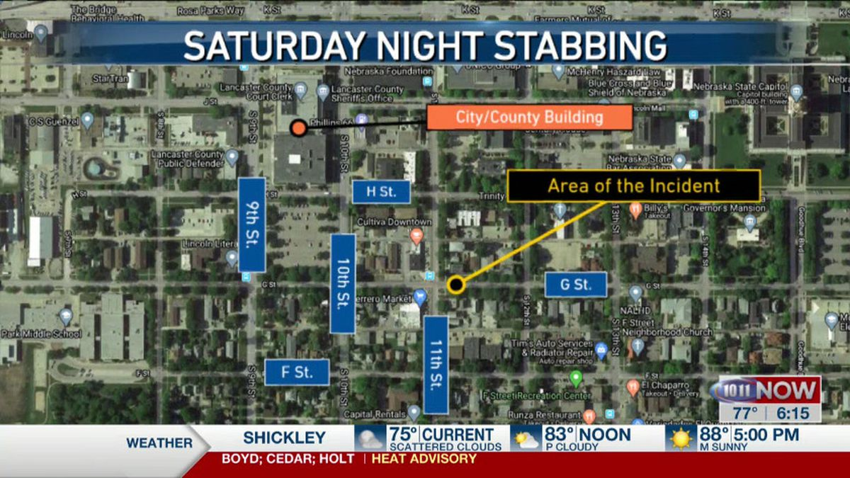 LPD is investigating after a man was stabbed over the weekend.