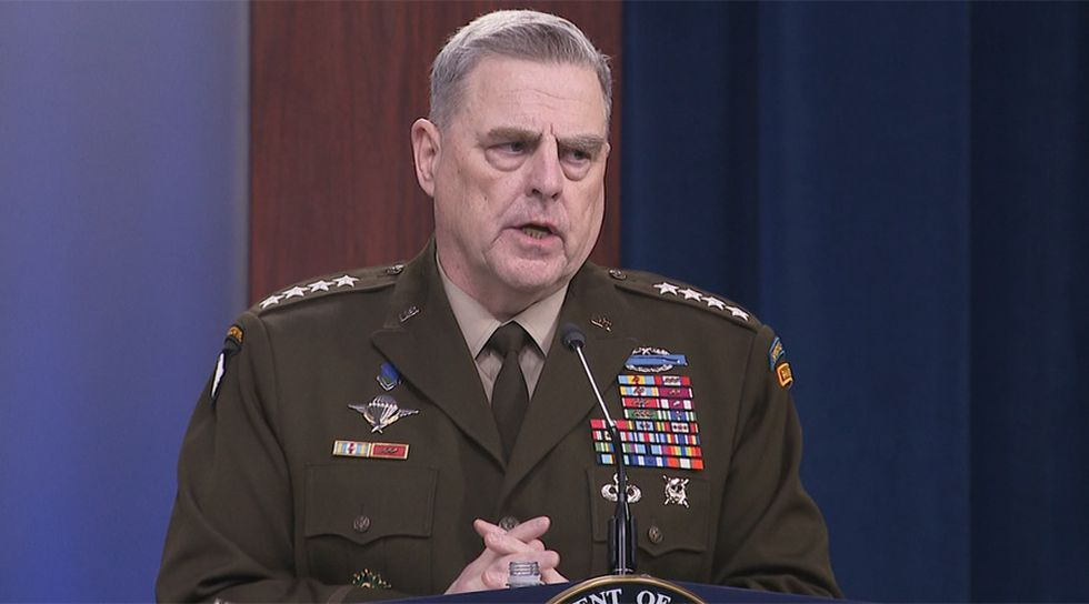 Gen. Mark Milley, the top U.S. general, is among the Pentagon officials quarantining after exposure to the coronavirus.