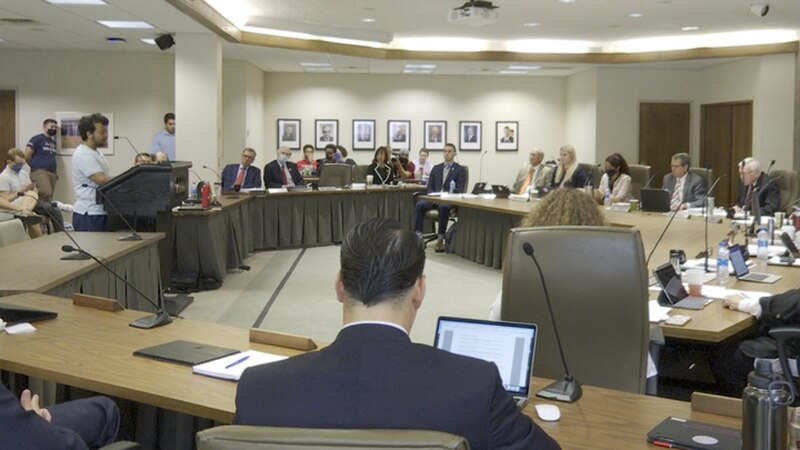 The regents voted 5-3 to oppose a resolution limiting the teaching of Critical Race Theory on...