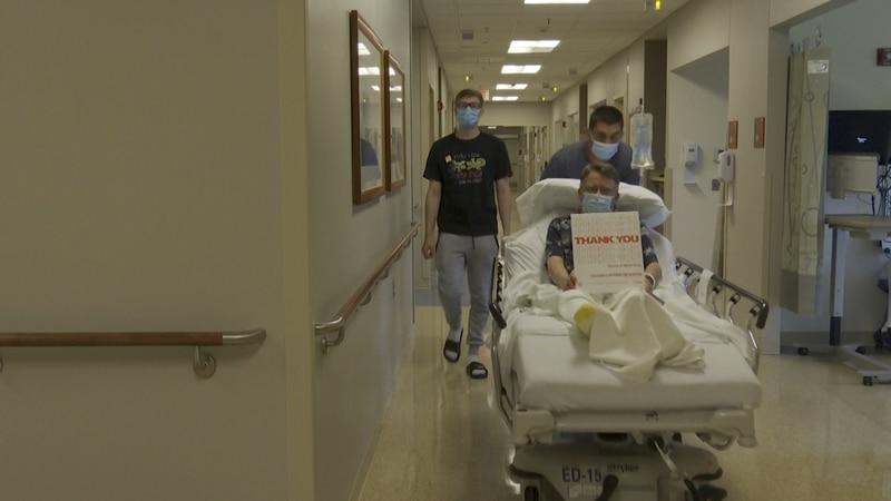 Waverly man, Bradley Bray, has had more than 700 life saving procedures at CHI Health St....