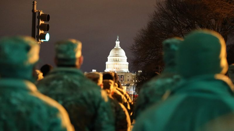 More than 300 Nebraska National Guard Soldiers and Airmen were in Washington D.C., supporting...