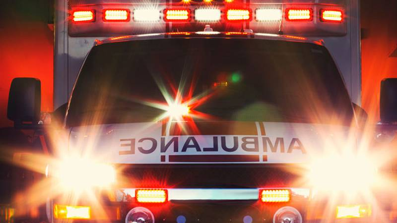 File graphic of an ambulance.