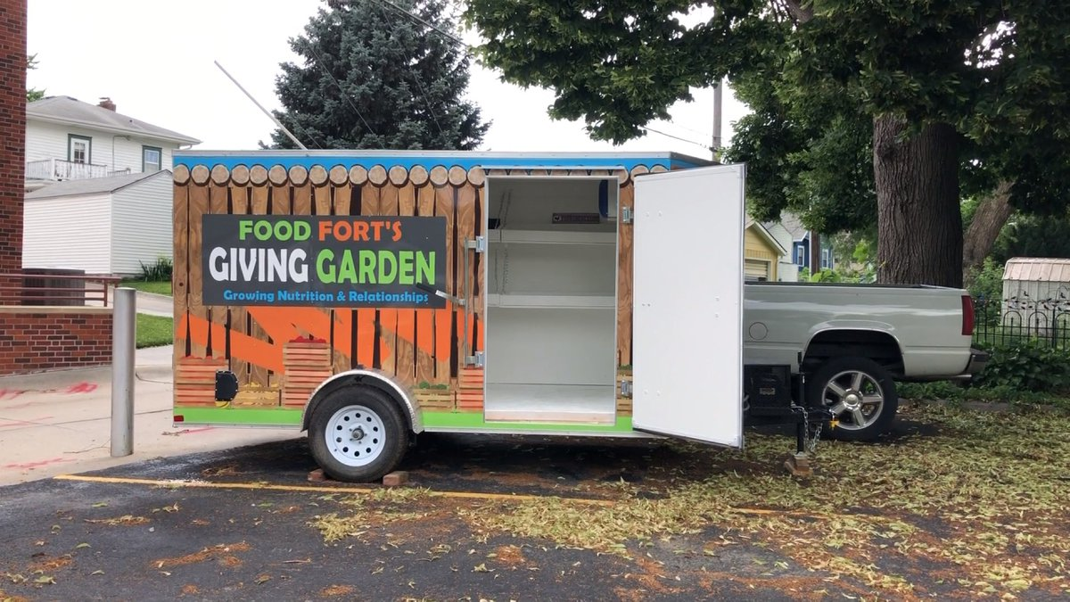 Food Fort will be adding a trailer called the Giving Garden. (Source: KOLN)