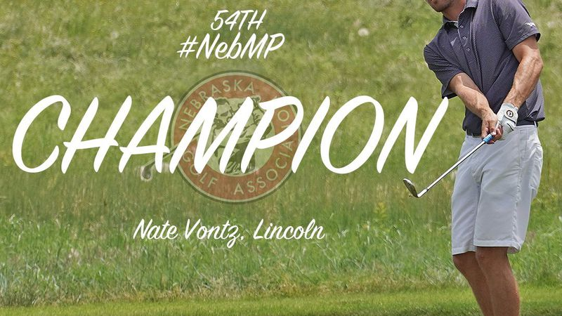 Lincoln's Nate Vontz was the star of the show at Wild  Horse Golf Club in Gothenburg this week,...