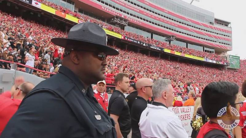 NSP troopers play many roles on game day and one of the biggest roles they take on is...