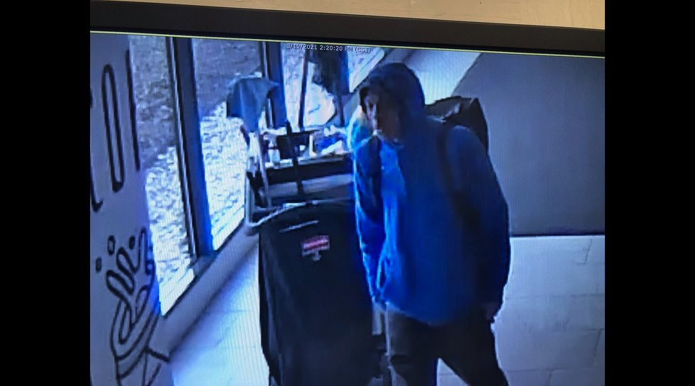 Omaha Police release photos of Westroads Mall shooting on 3/12/2021.