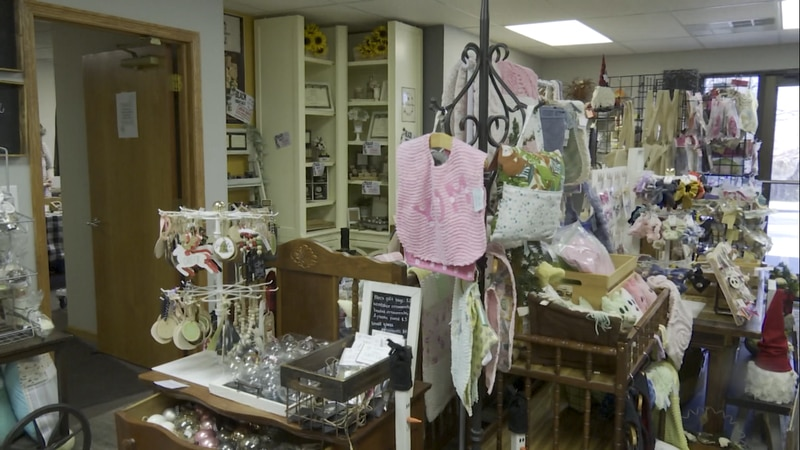Willow & Sage, a new boutique near 56 and O, sells hand-crafted products from around 20 local...