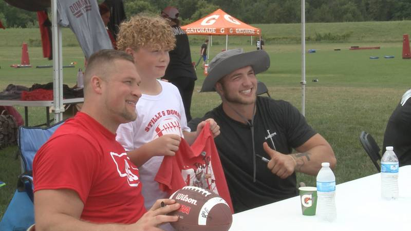 Nebraska Football Super Seniors Jojo Domann and Ben Stille simply wanted to give back to the...