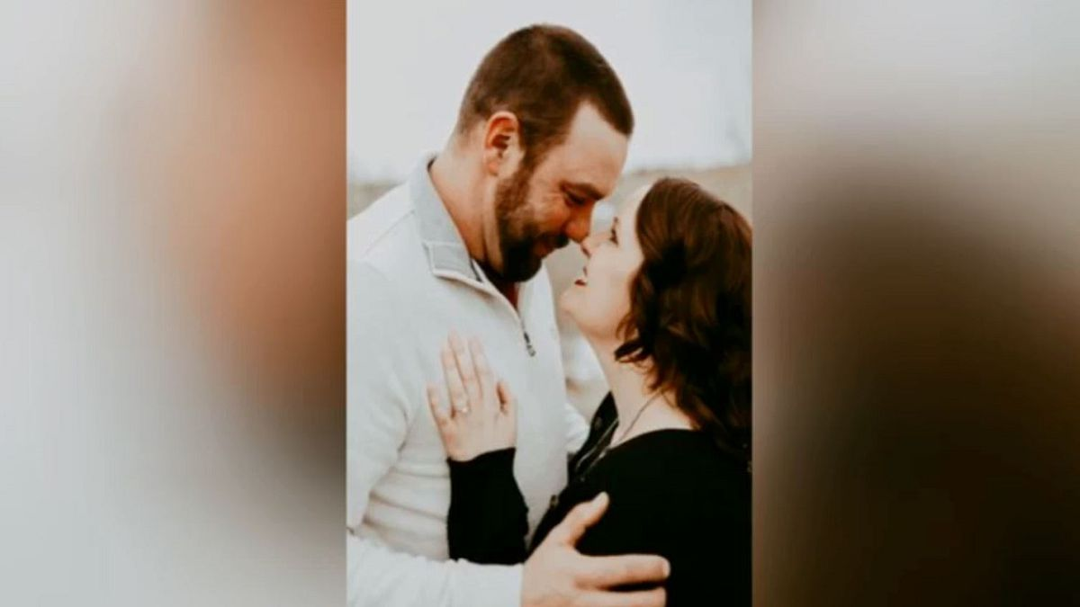 Aaron Landstrom and Stephanie Korus are getting married in one week, despite what's going on with the coronavirus. (Source: Kelsey Dickeson, KSNB)