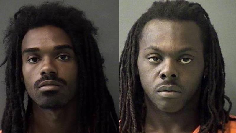Damon D. Williams, Jr. (left) and Tawhyne M. Patterson. (Jail photos)