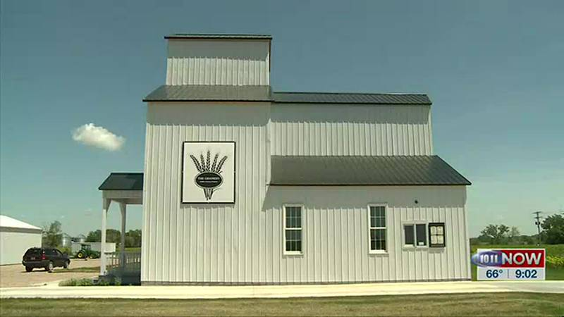 We learn how a Paxton woman turned an old grain elevator into a coffee shop and eatery.