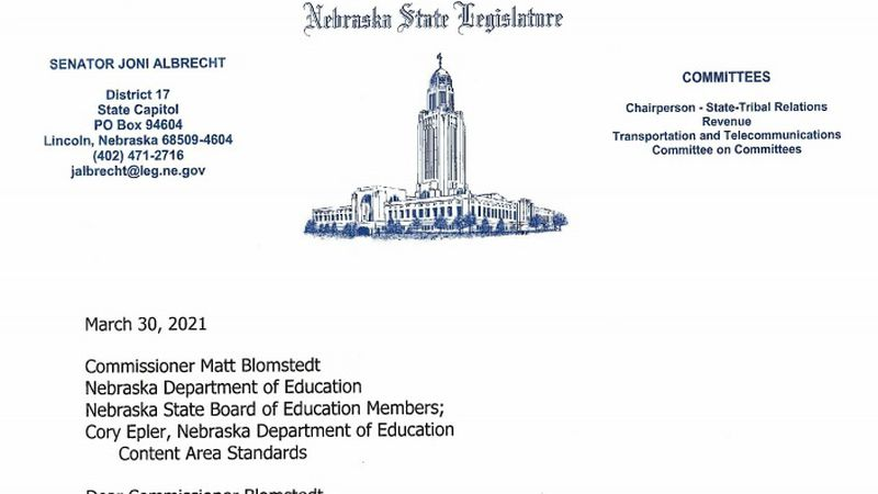 Twenty-eight state senators sent a joint letter to Education Commissioner Matt Blomstedt about...