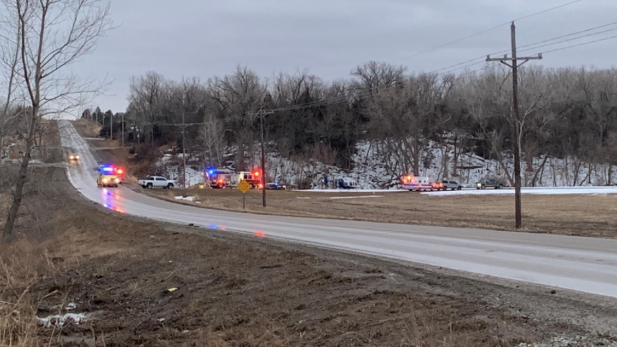Hickman Fire & Rescue, NSP, LSO and StarCare all at the scene of a crash along 54th Street,...