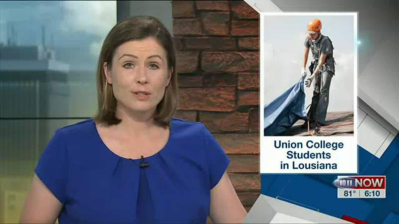 Union College students provide relief in Louisiana