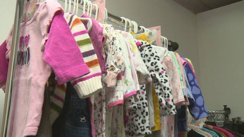 The Lincoln Community Baby Closet is now inside the Cre8tive Co-working Space near Leighton and...