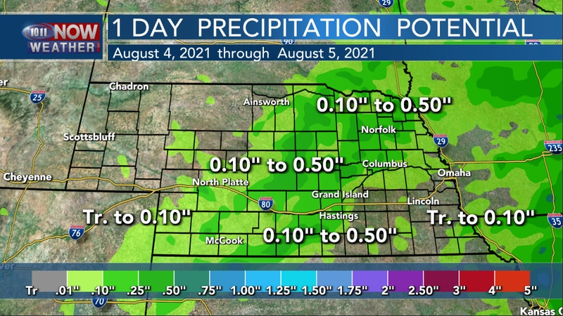 """A """"Chance"""" For Some Rain..."""
